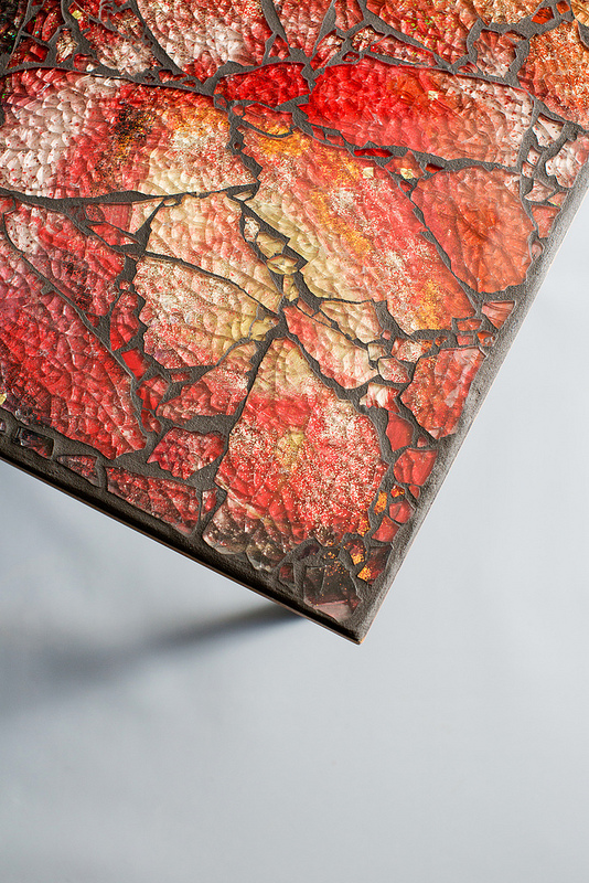 Uncategorized  Fire Mosaic Table tablec1