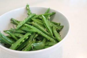 Herbed Sugar Snap Peas