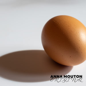 Egg and shadow. Photo by Anna Mouton.