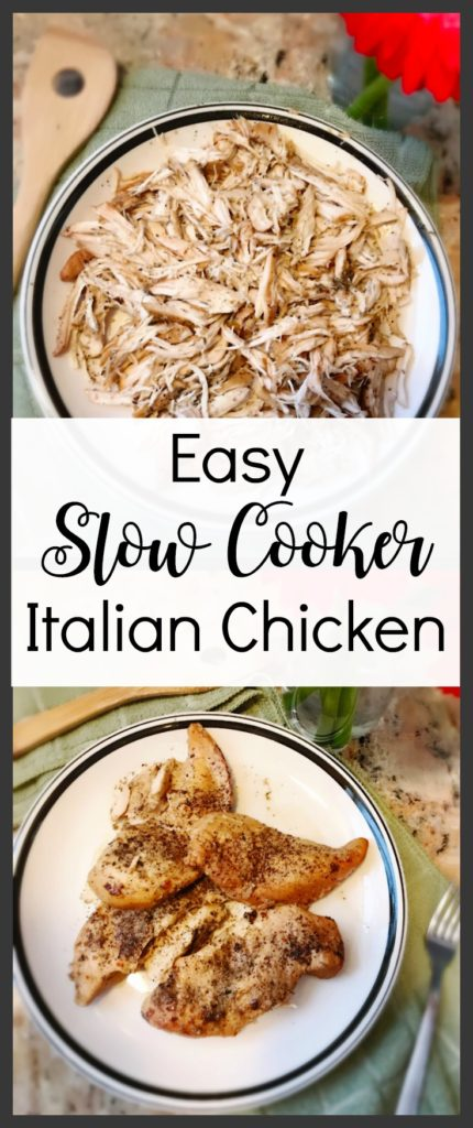 Easy Slow Cooker Italian Chicken, Slow Cooker Recipes, Chicken Dinner, Easy Dinner Recipes, Chicken Crock Pot Recipes