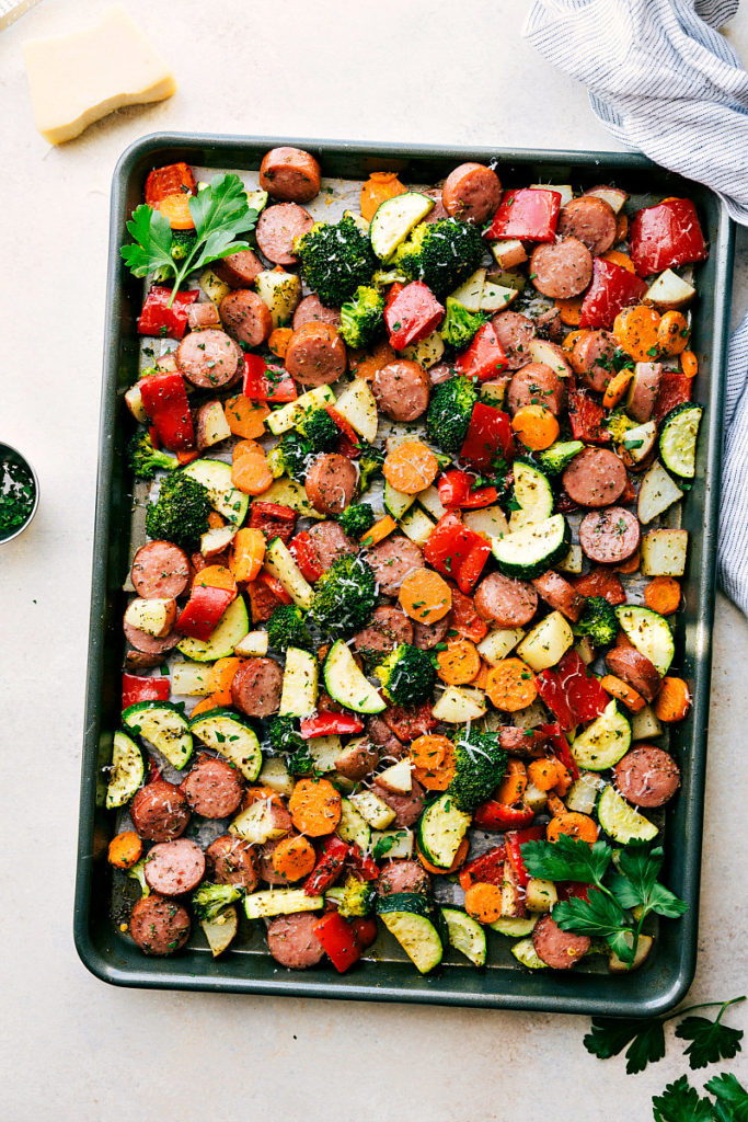 one pan dinner, quick dinner, healthy, easy dinner recipe, favorite dinner recipes, main course, sheet pan