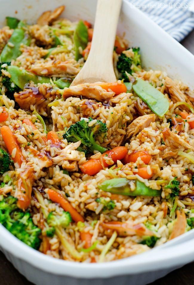 dinner recipes, easy dinner, chicken, teriyaki chicken, healthy