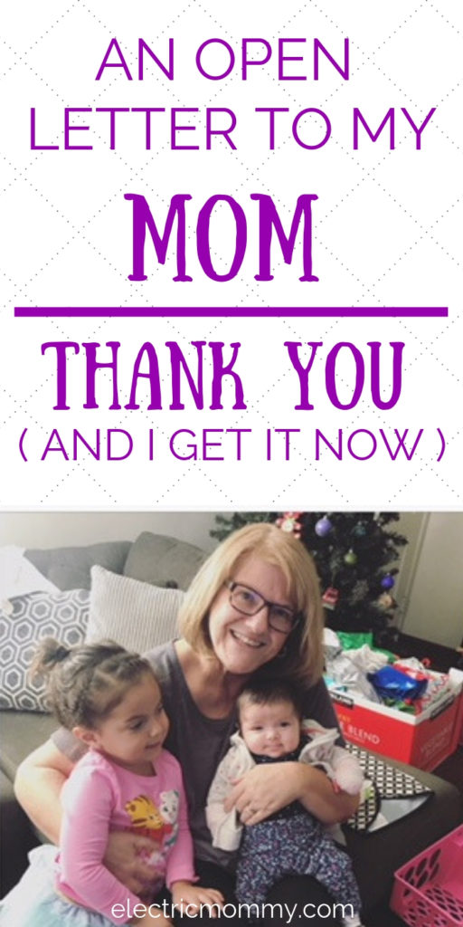 Now that I'm a Mom, I have an even bigger appreciation for what my Mom did for us - especially since she was a single mom. I wanted to write about how I see everything differently now and appreciate her more than anything. Letter to My Mom | Letter to My Mom from Daughter | Message to My Mother #motherhood #openletter #lettertomom #momlife #newmom