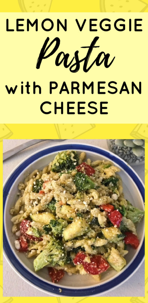 Lemon Veggie Pasta with Parmesan Cheese - this is a dinner our whole family loves and it's filled with veggies! The flavorful sauce is amazing. | Healthy Vegetarian Dinner Recipes, Lemon Pasta, Healthy Dinner Recipes, Lemon Parmesan, Pasta Dishes, Lemon Broccoli Pasta, Veggie Recipes #dinnerrecipes #vegetarianrecipes #pastarecipes
