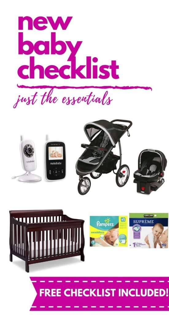 It can be SO overwhelming to know what you need and what you don't, especially when you are a new mom. Here's a list of everything you need (and the things you don't). New Baby Essentials List | Free Printable Baby List | Baby Essentials for New Moms | Newborn Baby Essentials Checklist PDF | Pregnancy | Baby Registry | Must Have Baby Registry Items #newbabyessentials #pregnancy #newbaby #musthavebabyitems #babyessentials #motherhood #parenting #momlife #pregnantlife #babyregistry