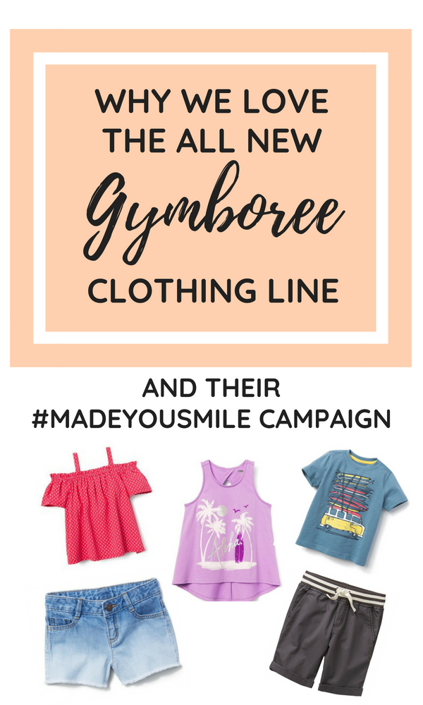 We are loving all the new clothes at Gymboree! The selection and quality is better than ever at a very affordable price. Check out why we love this store so much! Affordable Children's Clothes | Back to School Clothing Deals | Baby Clothes | Kids Clothes | About Gymboree | Childrens Shop #kidsclothes #backtoschool #toddlerlife #momlife