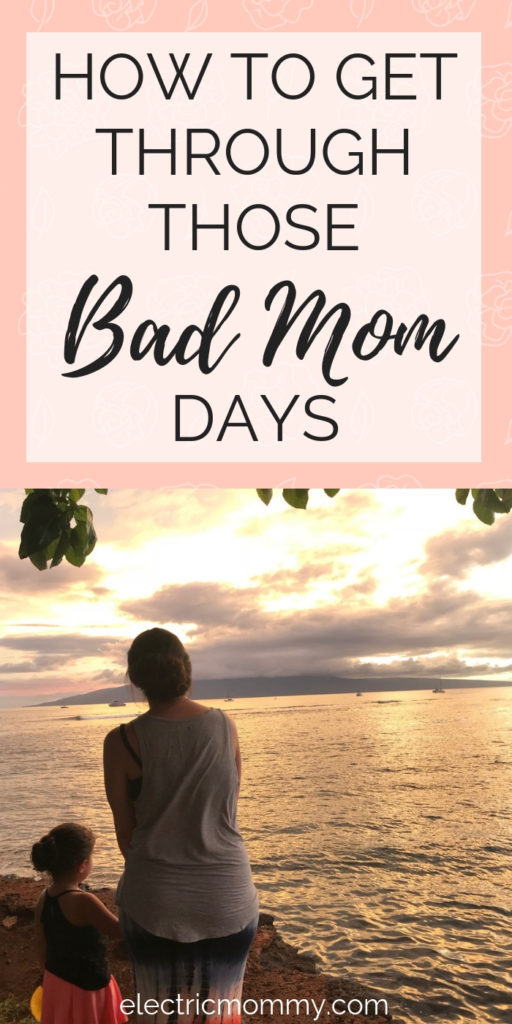 Let's face it - some days being a mom is super hard! Some days are definitely tougher than others but the more time that goes by, the more I learn how to handle these kind of days. Here's what helps me on a bad day. | Motherhood | Postpartum | Mom Life | Parenting | Mom Articles #motherhood #momlife