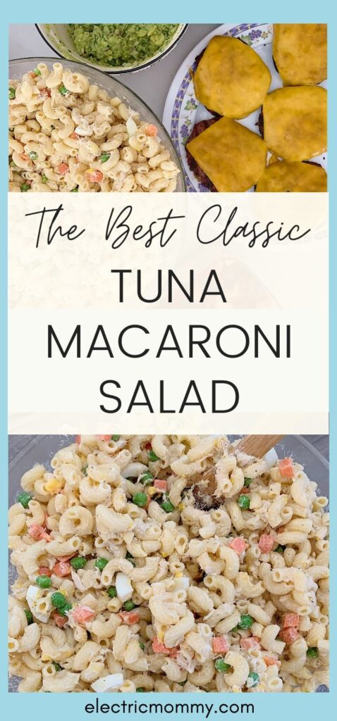 Looking for a classic tuna macaroni salad that's easy to throw together and uses simple ingredients? Read on for my favorite classic tuna macaroni salad. | Tuna Macaroni Salad | Tuna Pasta Salad | Macaroni Salad Recipe | Tuna Macaroni Salad | Macaroni Salad with Tuna | Best Macaroni Salad | Easy Macaroni Salad | Tuna Salad #macaronisalad #tunamacaronisalad #easysidedishes #sidedishes #bbq #bqfood #pastasalad