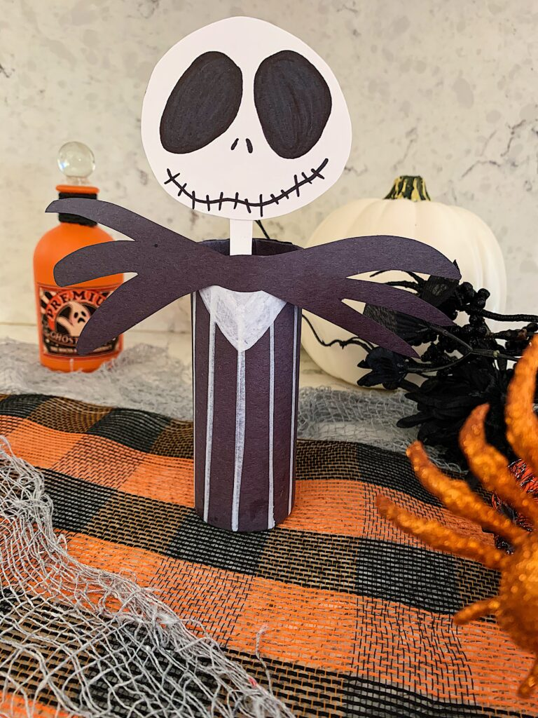 Toilet Paper Roll Crafts | Toilet Paper Roll Crafts for Kids | Toilet Paper Roll Crafts Halloween | Halloween Crafts Easy | Nightmare Before Christmas Crafts