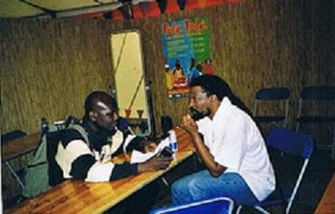 Lucky Dube and Joel Savage