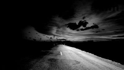 night-road-highway-sky-spirits-void-horizon-infinity-photo-black-white-background