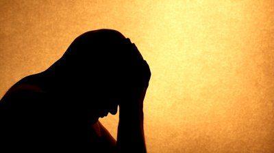 stock-footage-silhouette-sadness-man
