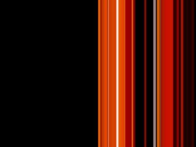 Stripes-Black-Orange-Design