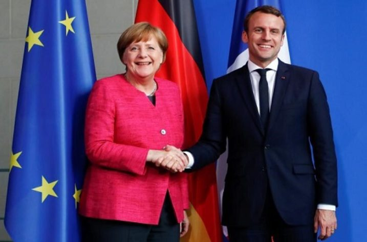 Merkel and Macron agree to draw up roadmap to deeper EU integration