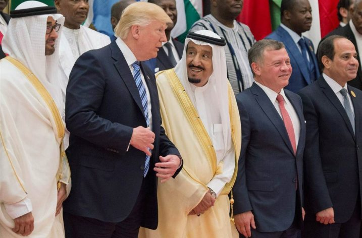 What is rude for most Arabs…is not Trump's handshake