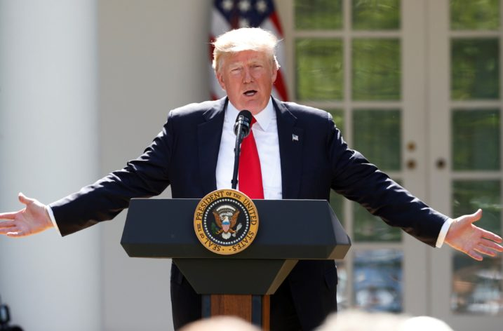 Trump abandons global climate pact; allies voice dismay