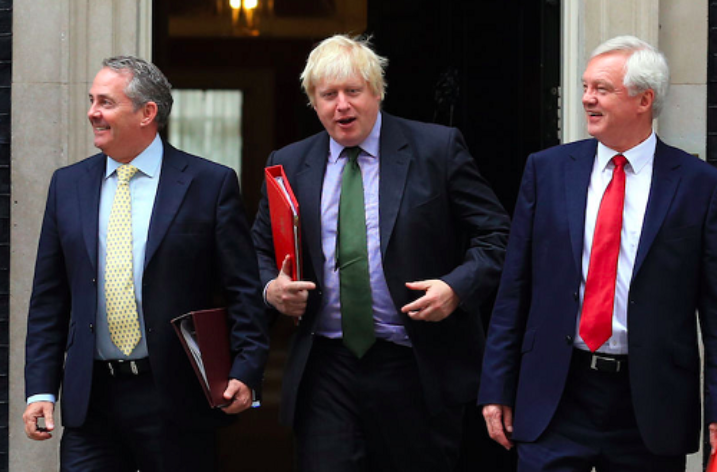The Three Brexit Musketeers fly the flag overseas