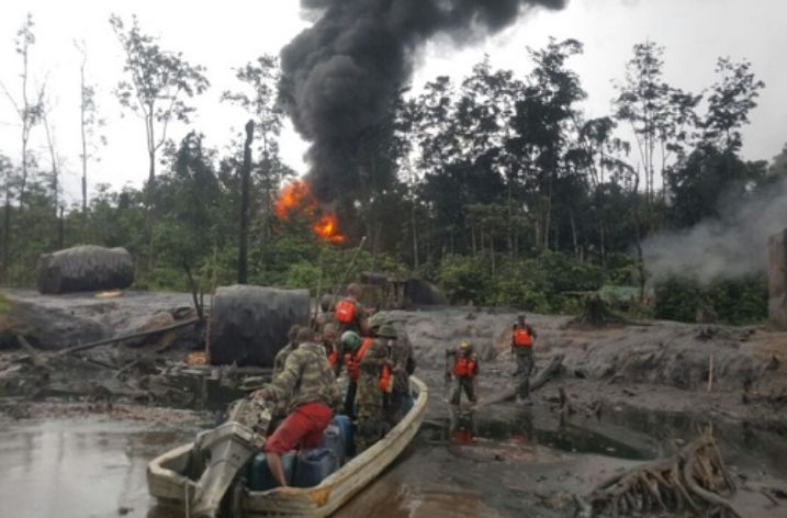 As the Crocodile preys, the Niger Delta prays