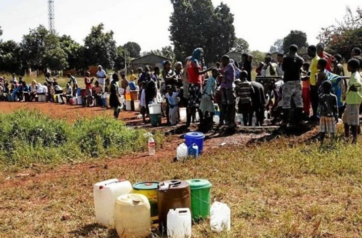 Water shortages strangle Zimbabwean townships