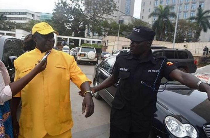 Ugandan MP fined for urinating in public