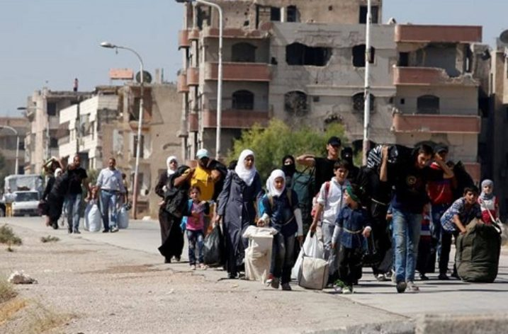 Syrian forces' surrender or starve tactics are crimes against humanity