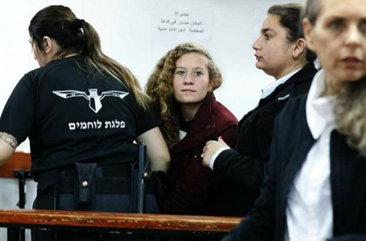 Israel continue to detain 16-year-old Palestinian activist Ahed Tamimi