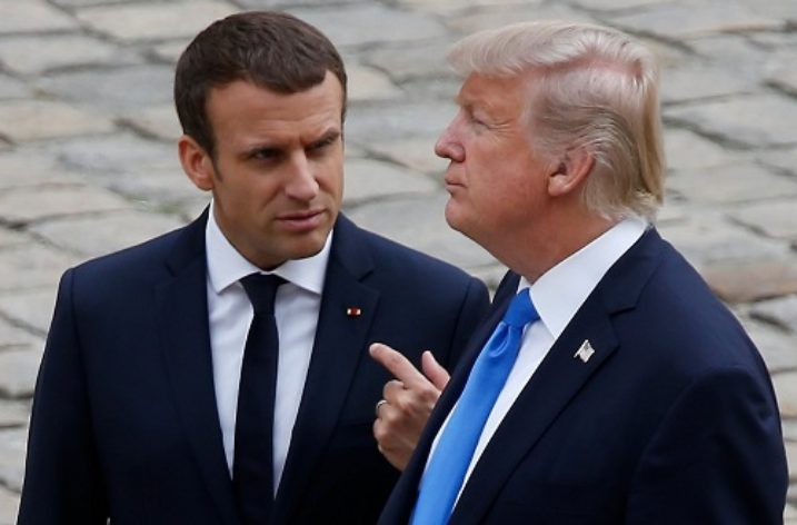 Macron, Trump and Iran