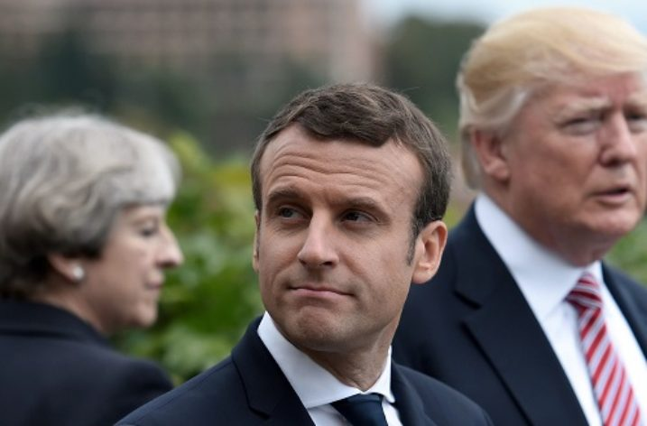 Syria: Trump, May and Macron