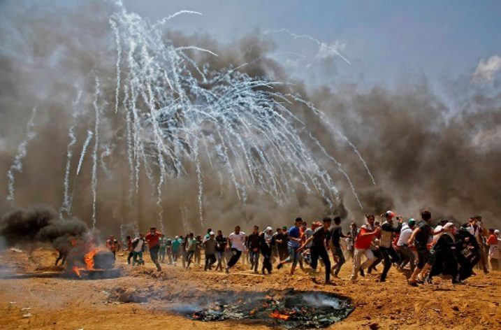 Over 50 Palestinians killed and thousands injured in Gaza
