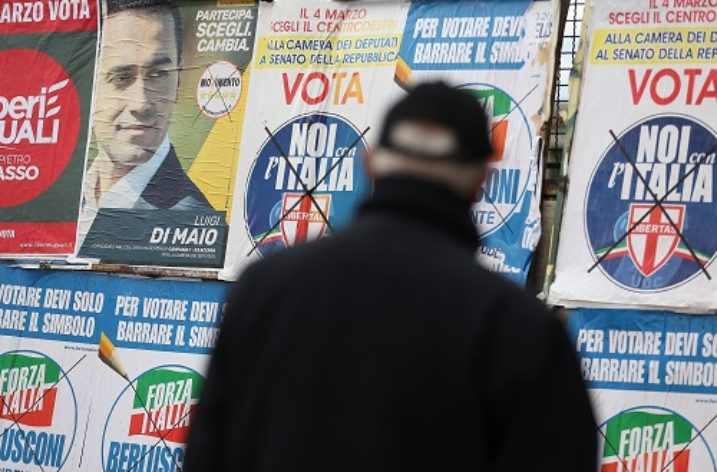 The crisis in Italian politics