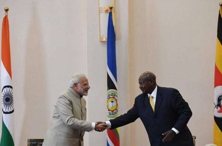 Indo-African partnership: Modi addresses Ugandan parliament