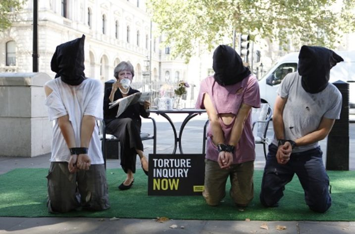 Leading human rights organisations call on Theresa May to set up torture inquiry
