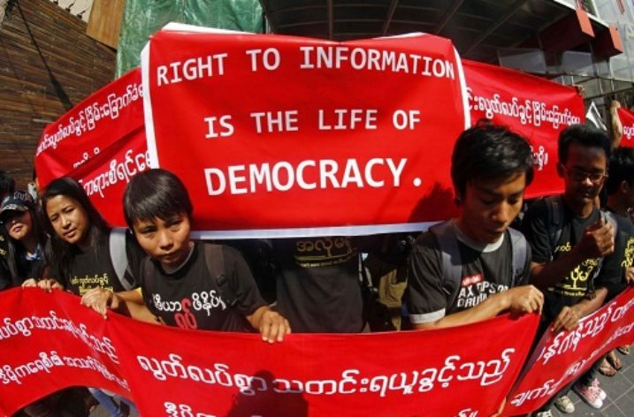 Laws silencing independent journalism in Myanmar