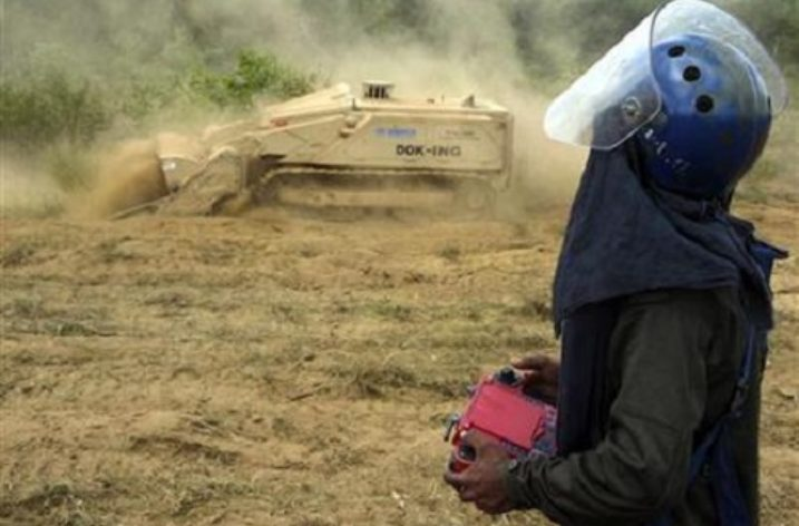 The use of Cluster Munitions in Sri Lanka