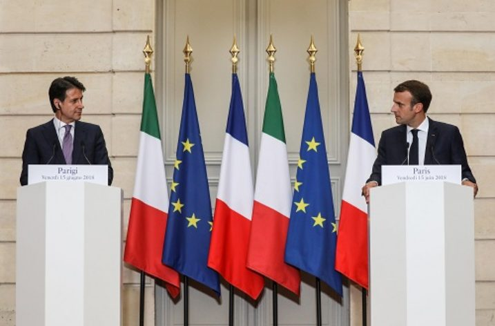Italy and France: Used to be friends… or is it suddenly not so?