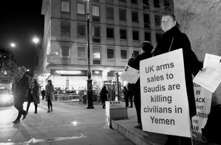 UK's 'moral hypocrisy' on arms sales to Saudi Arabia