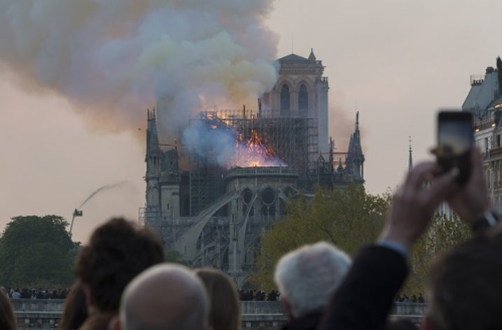 The Notre Dame cathedral fire and archaeological devastation by Western nations