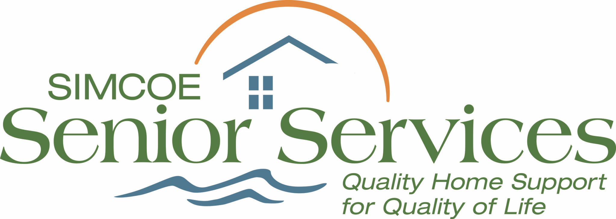 Simcoe Senior Services logo. Senior Home Care in Barrie and Simcoe County