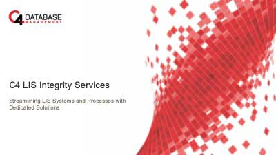 C4 LIS Integrity Services presentation cover image