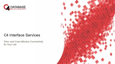 Cover image of Interface Services Presentation