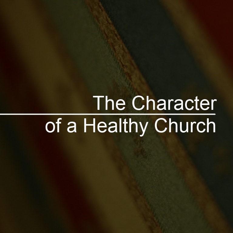 4-6-14 The Character of a Healthy Church: Unoffendable
