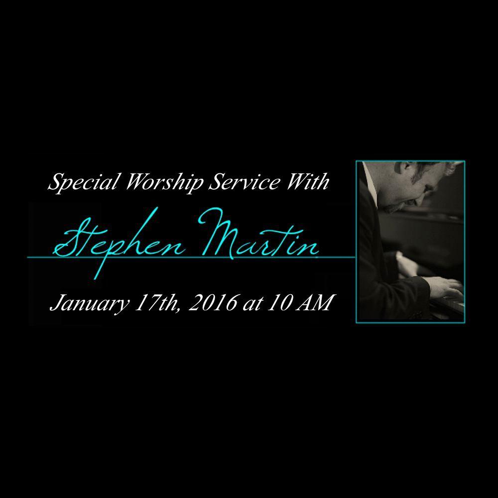Stephen Martin | Live & Unfiltered