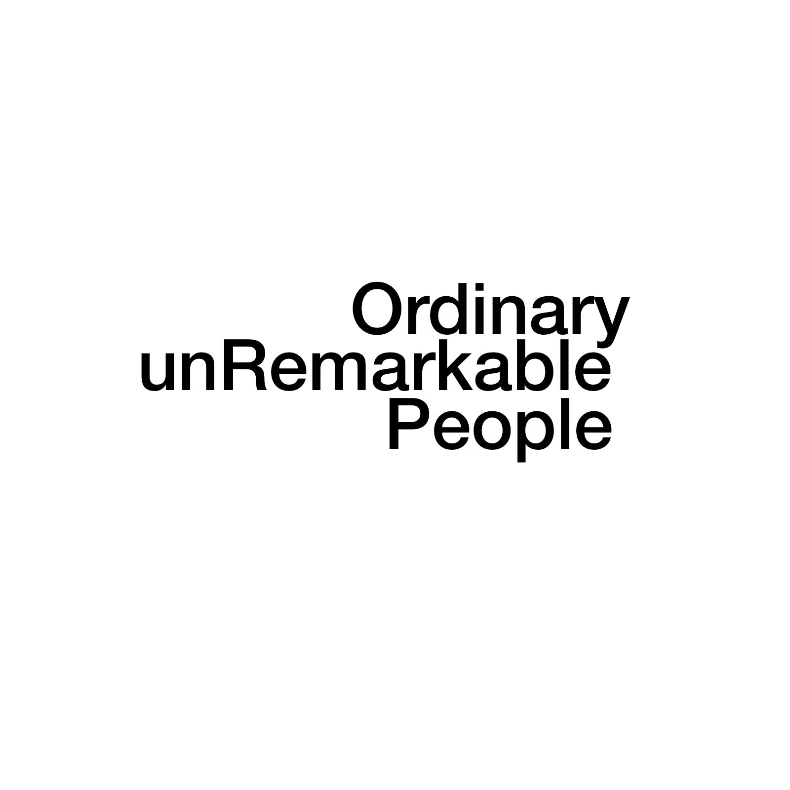 Ordinary Unremarkable People | Simeon and Anna