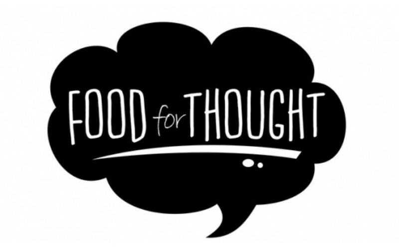 Special Sermons 2020: Food For Thought