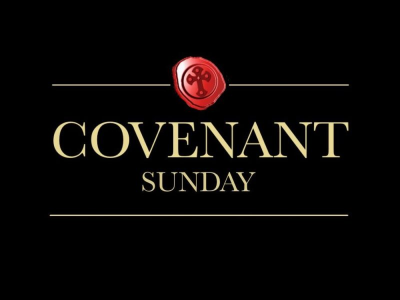 Special Messages: Covenant Sunday 2020