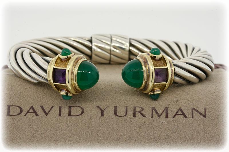 David Yurman Renaissance Cuff bracelet