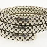 John Hardy sterling coil dot bracelet