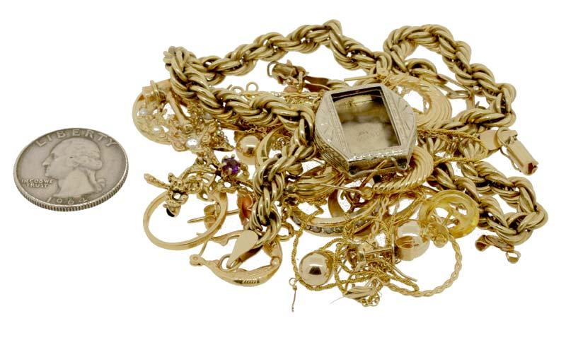 Janet's scrap gold worth $1068