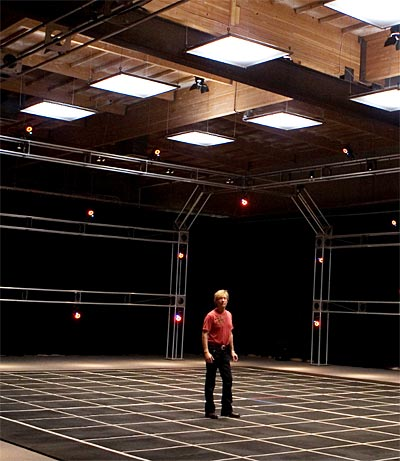 Paul Dexter In Motion Capture Studio
