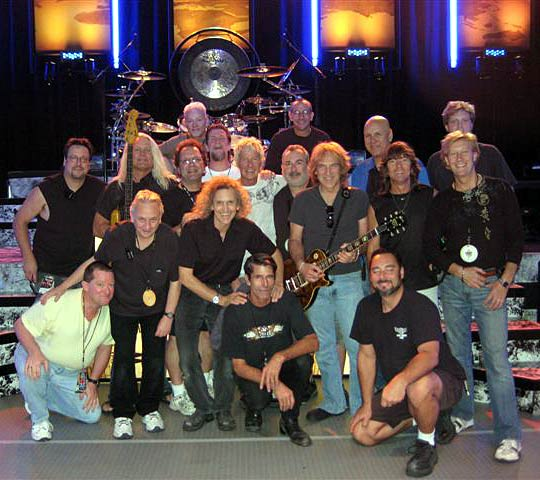 REO Speedwagon Band and Crew 07